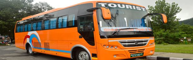 Tourist Bus by HimEx Nepal/ Global Vacation Tours and Travels_0