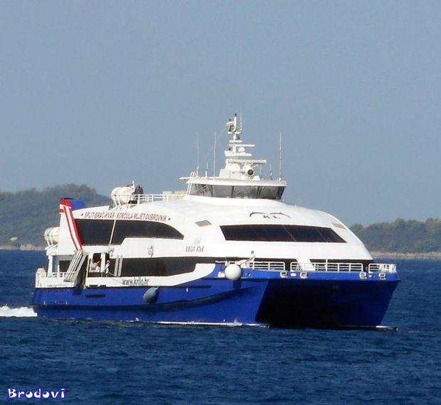 Split to Hvar - High Speed Ferry by Krilo (Kapetan Luka)_0