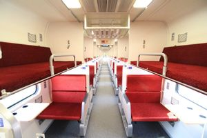 Vientiane to Bangkok - Second Class Train by Thai Railways_0