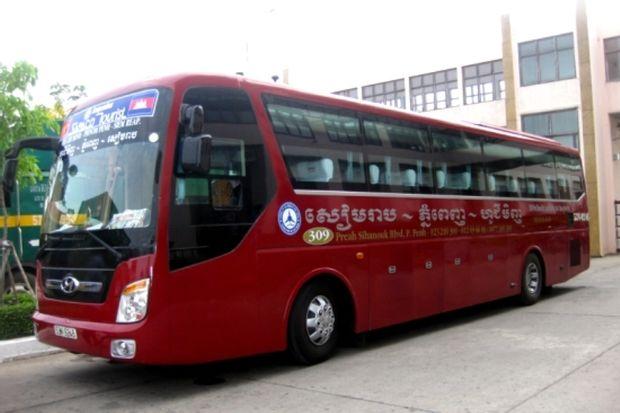 Ho Chi Minh (Saigon) to Phnom Penh - Tourist Bus by Vietnam Transports_0
