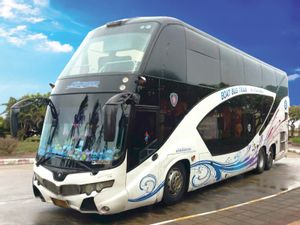 Ao Nang to Koh Samui - High Speed Bus+Ferry by Songserm_0