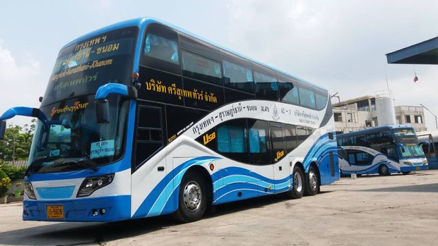 Nakhon Si Thammarat to Bangkok - Tourist Bus by Sri Suthep_0