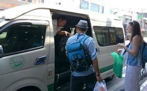 Suratthani to Khao Sok - Van Minivan by Phantip Travel_1
