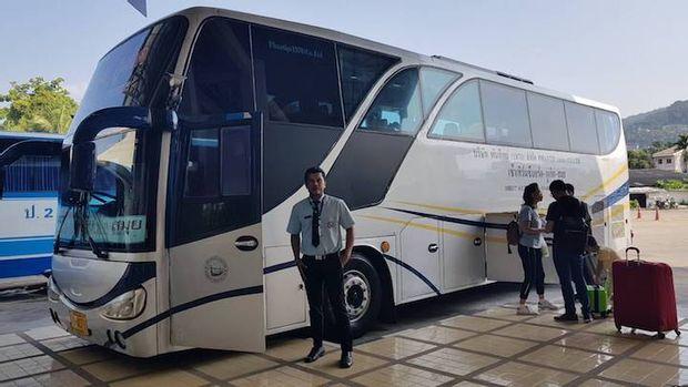 Koh Phangan to Koh Lanta - Standard Bus+Ferry by Phantip Travel_0