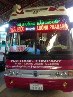 Hanoi to Luang Prabang - Local sleeping Bus by Khanh Sinh Tour_3