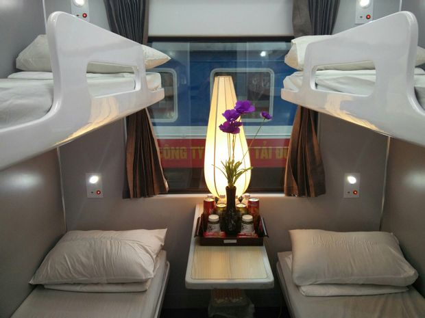 Ho Chi Minh (Saigon) to Hanoi - Tourist Train by Violette Trains_0