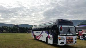 Baguio to Banaue - Tourist Bus by Ohayami Trans_2