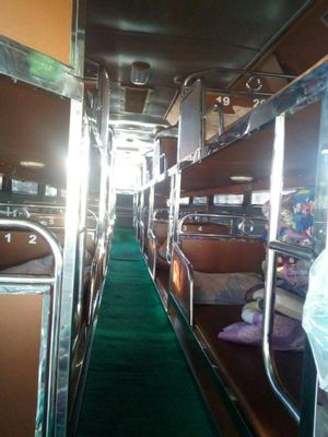 Chiang Mai to Luang Prabang - Local sleeping Bus by Naga Travel_2