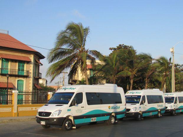 Tourist Minivan By Marsol Transportes