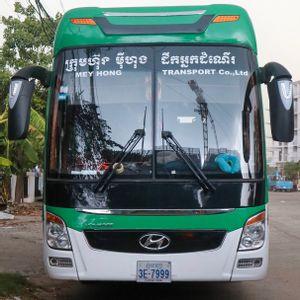 Phnom Penh to Siem Reap - Semi-Sleeper Bus by Mey Hong Transport_0