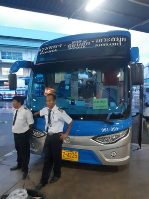 Bangkok to Koh Phangan - Tourist Bus+Ferry by Naga Travel_1