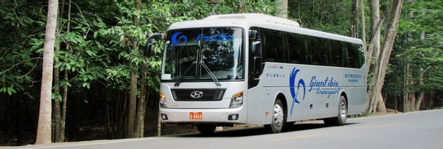Kampot to Phnom Penh - Tourist Bus by Giant Ibis_0