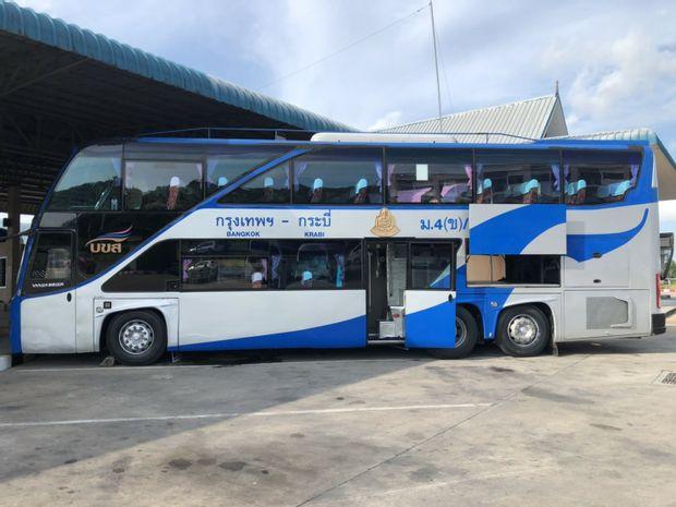 Krabi to Bangkok - Standard Bus by Songserm_0