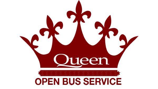 Queen Cafe Bus logo
