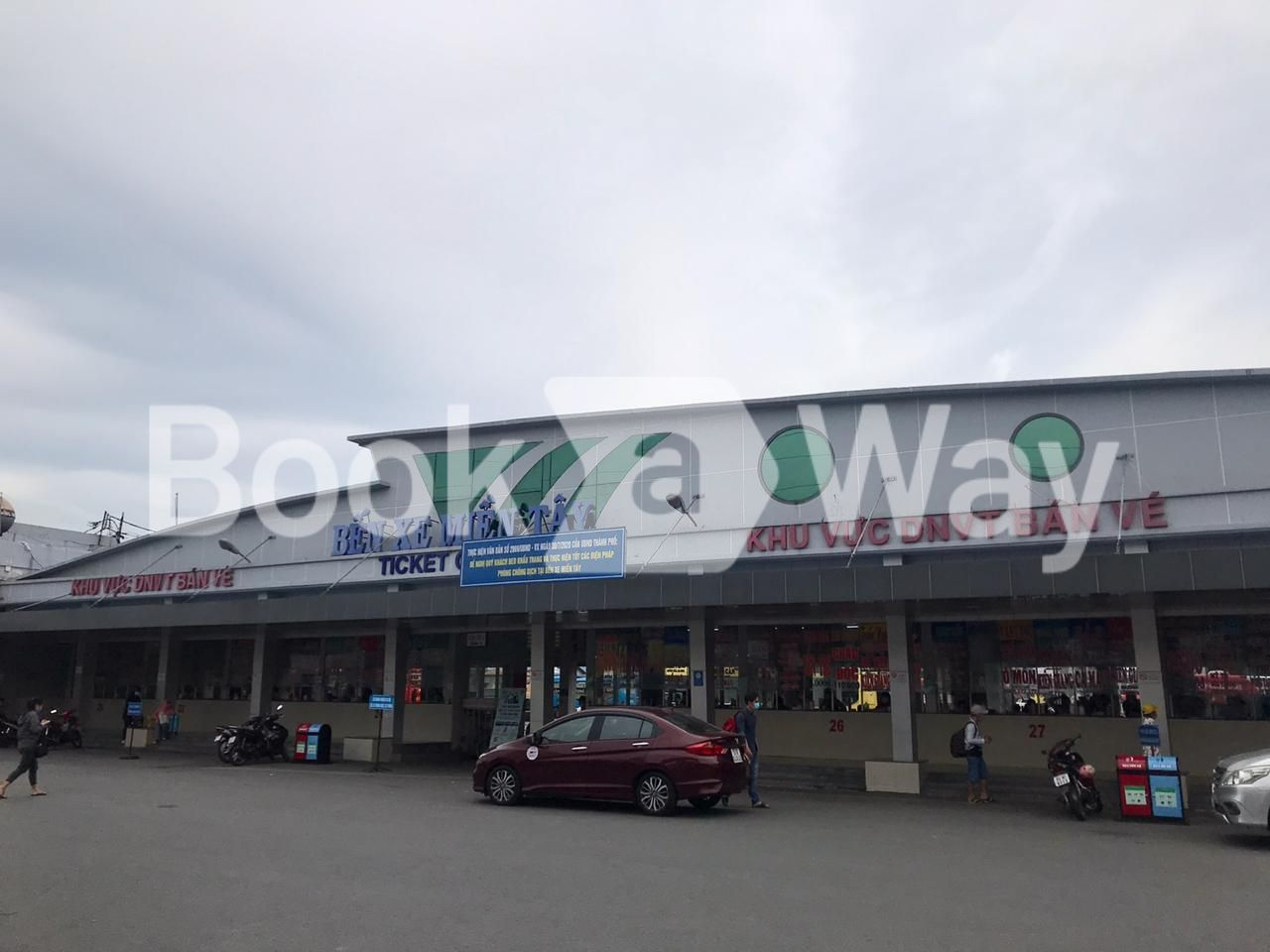 Mien Tay Bus Station (Western Bus Station)
