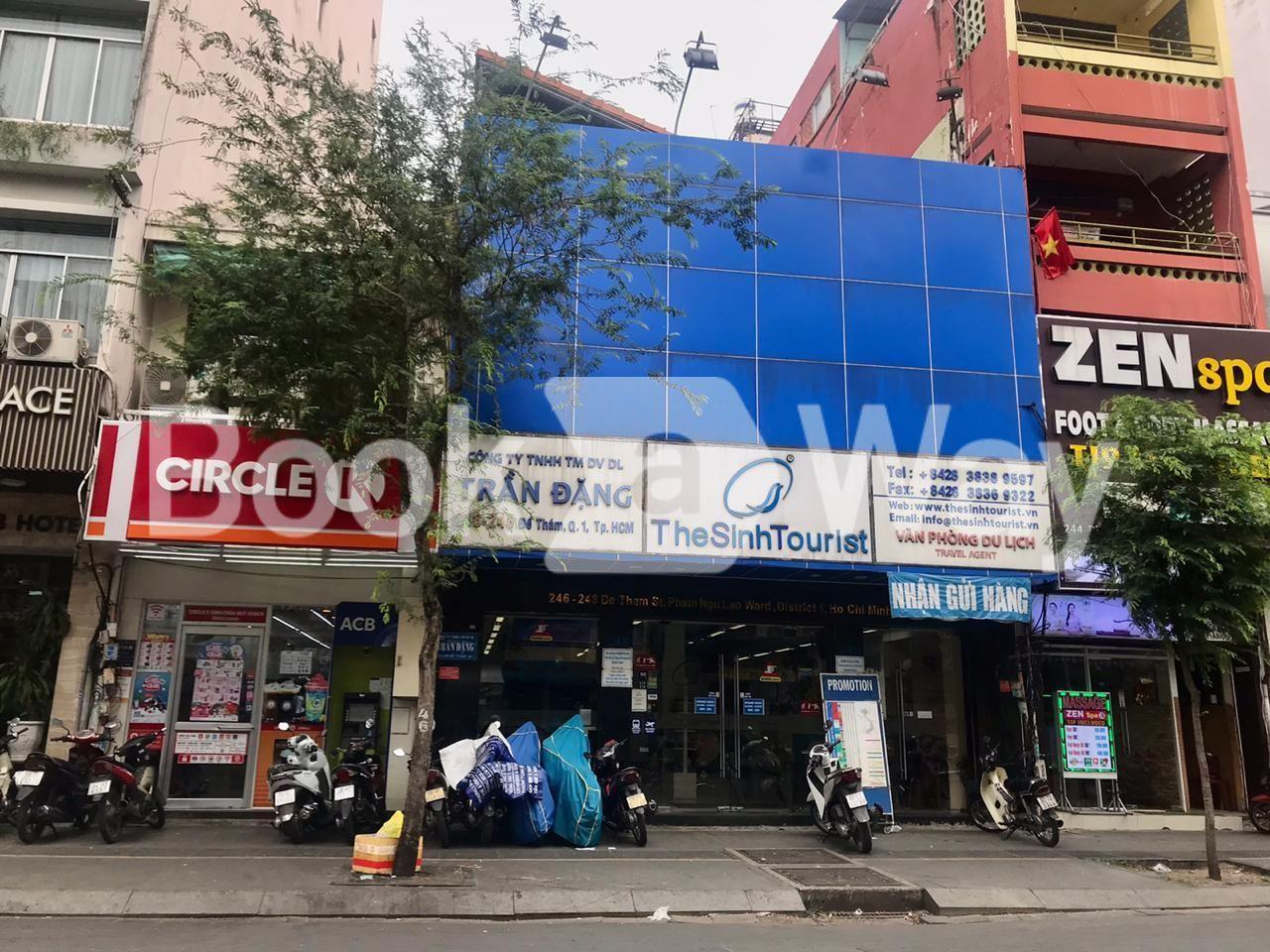 The Sinh Tourist office HCM